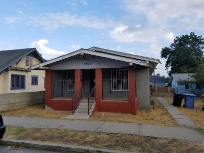 Selma CA Single Family Home For Sale: $125,000