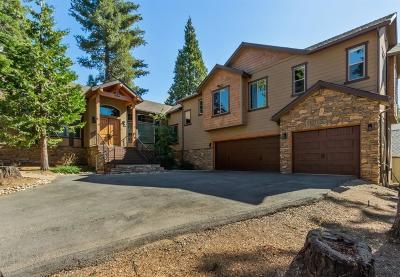 Shaver Lake Single Family Home For Sale: 41679 Timber Ridge Lane