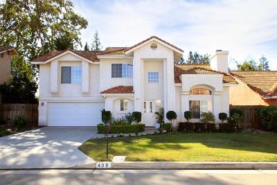 Fresno Single Family Home For Sale: 409 E Braddock Drive