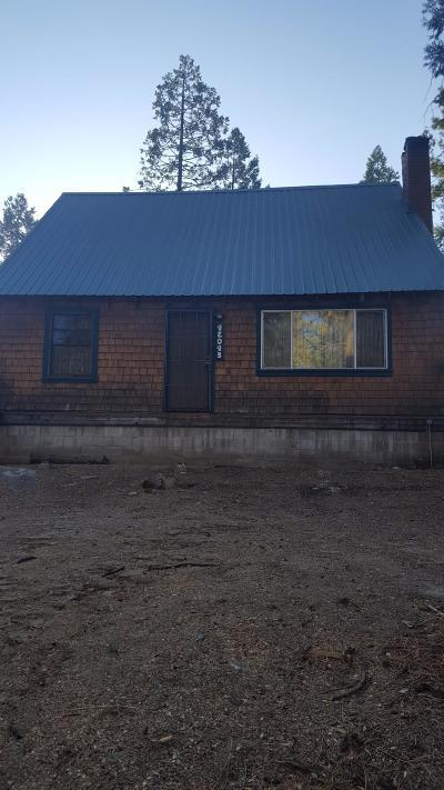 Shaver Lake Single Family Home For Sale: 42043 Nutmeg Lane