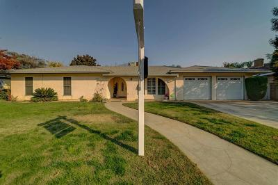 Madera Single Family Home For Sale: 505 Shannon Avenue