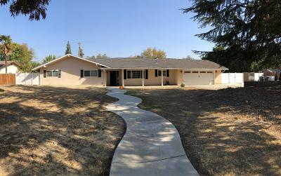 Madera Single Family Home For Sale: 10649 Fig Grove Road