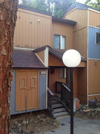 Shaver Lake Condo/Townhouse For Sale: 40804 Mill Run Lane #22