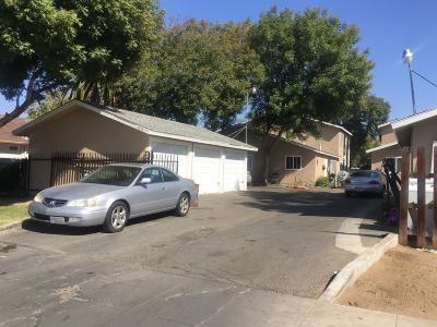 Clovis, Fresno, Sanger Multi Family Home For Sale: 1725 S 2nd Street