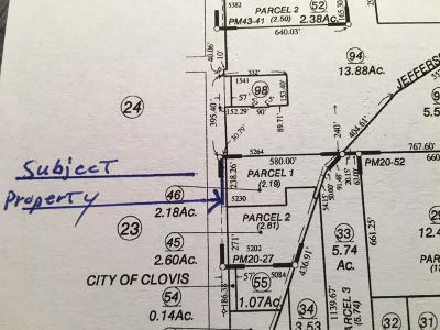 Clovis Residential Lots & Land For Sale: 1633 De Wolf Avenue