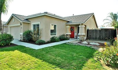 Madera Single Family Home For Sale: 1184 Peach Tree Drive