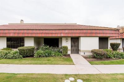 Fresno Condo/Townhouse For Sale: 4914 N Sequoia Avenue #101