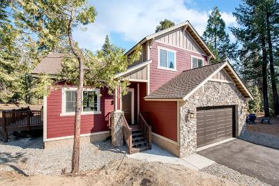 Shaver Lake Single Family Home For Sale: 39457 Weldon Corral