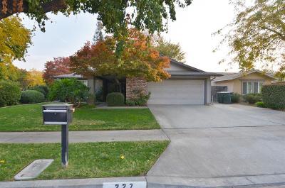 Fresno Single Family Home For Sale: 227 W Los Altos Avenue