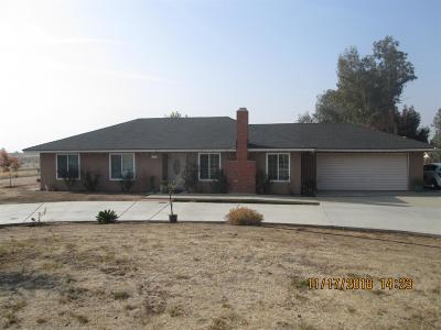 Madera Single Family Home For Sale: 21784 Elmwood Road