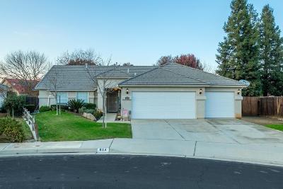 Clovis Single Family Home For Sale: 834 N Fordham Avenue