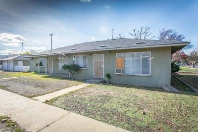 Clovis, Fresno, Sanger Multi Family Home For Sale: 1717 N Fruit Avenue