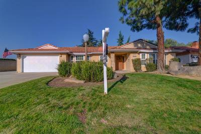 Madera Single Family Home For Sale: 2385 Jonathan Way