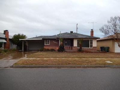 Fresno Single Family Home For Sale: 3452 E Dayton Avenue