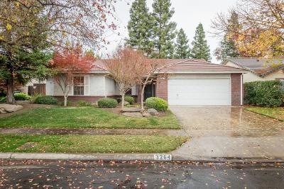 Fresno Single Family Home For Sale: 3264 W Calimyrna Avenue