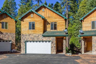 Shaver Lake Condo/Townhouse For Sale: 40878 Village Pass Lane