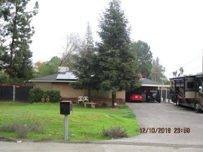 Fresno CA Single Family Home For Sale: $350,000