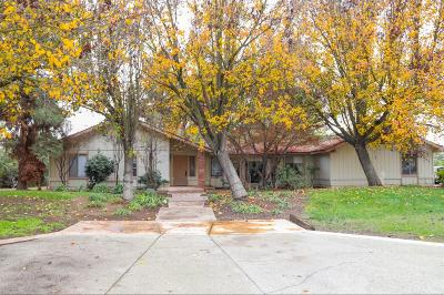 Fresno Single Family Home For Sale: 5399 W Yale Avenue