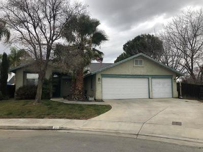 Coalinga Single Family Home For Sale: 273 El Camino Lane