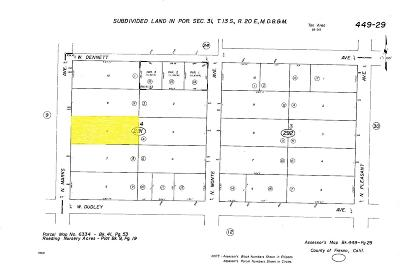 Fresno Residential Lots & Land For Sale: 1234 N Marks Avenue