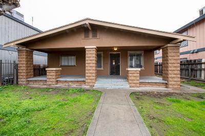 Fresno Single Family Home For Sale: 468 N Glenn Avenue