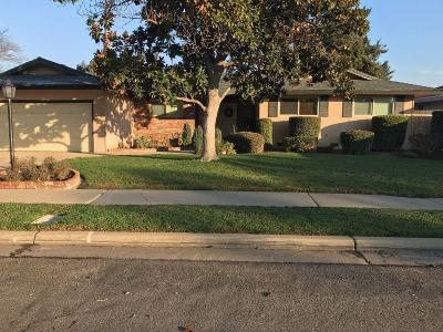 Fresno CA Single Family Home For Sale: $275,000