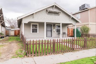 Fresno CA Single Family Home For Sale: $159,000