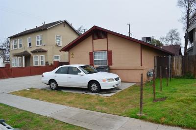 Clovis, Fresno, Sanger Multi Family Home For Sale: 630 N Thorne Ave. Avenue