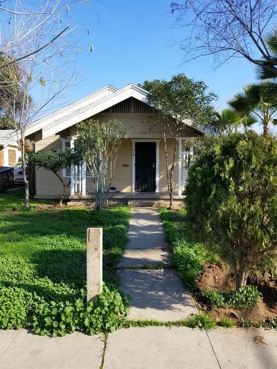 Fresno Single Family Home For Sale: 219 S Hayston Avenue