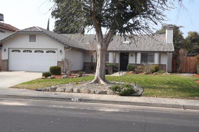 Clovis Single Family Home For Sale: 354 McKelvy Avenue