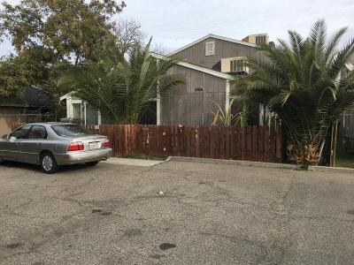 Clovis, Fresno, Sanger Multi Family Home For Sale: 1624 B Street