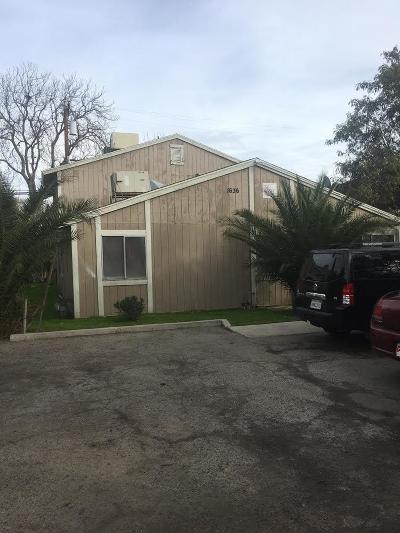 Clovis, Fresno, Sanger Multi Family Home For Sale: 1636 B Street