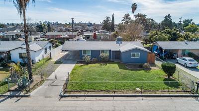 Selma CA Single Family Home For Sale: $185,000