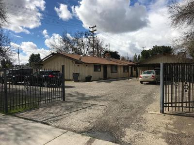 Clovis, Fresno, Sanger Multi Family Home For Sale: 4217 N Fruit Avenue