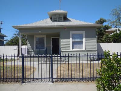 Clovis, Fresno, Sanger Multi Family Home For Sale: 311 N Thesta Street