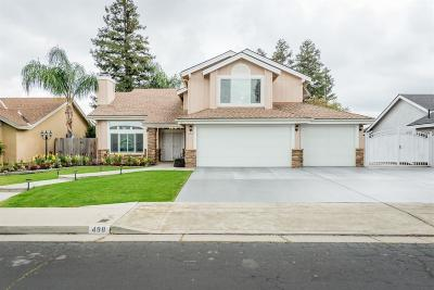 Clovis Single Family Home For Sale: 498 W Birch Avenue
