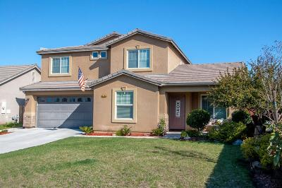 Hanford Single Family Home For Sale: 1388 W Burgundy Court