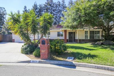 Fresno CA Single Family Home For Sale: $315,000