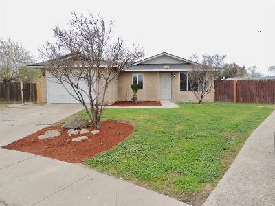 Hanford Single Family Home For Sale: 1040 W Anacapa