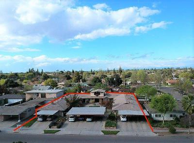 Clovis, Fresno, Sanger Multi Family Home For Sale: 2825 E Harvard Avenue