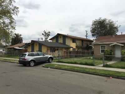 Clovis, Fresno, Sanger Multi Family Home For Sale: 2056 E White Avenue