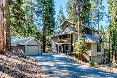 Shaver Lake Single Family Home For Sale: 38553 Ridge Rd Road