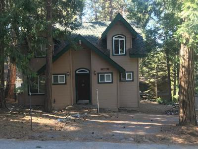 Shaver Lake Single Family Home For Sale: 44381 Hillcrest Avenue