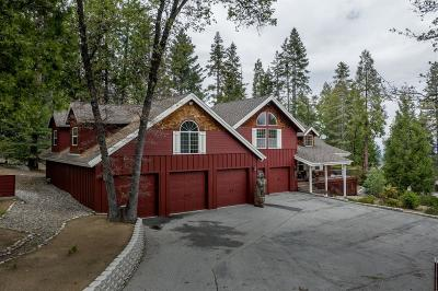 Shaver Lake Single Family Home For Sale: 39003 Littlefield Road Road