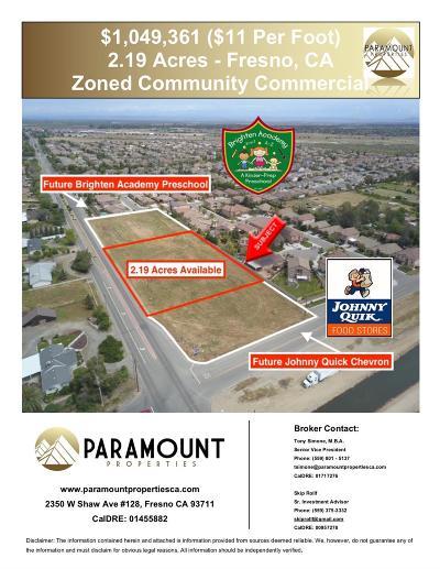 Fresno Residential Lots & Land For Sale: N Grantland Avenue