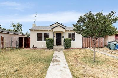 Fresno Single Family Home For Sale: 3837 E Grant Avenue
