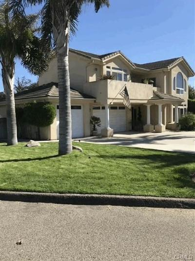 Arroyo Grande Single Family Home For Sale: 665 Bayview Lane