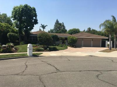 Fresno Single Family Home For Sale: 1211 W Ellery Way
