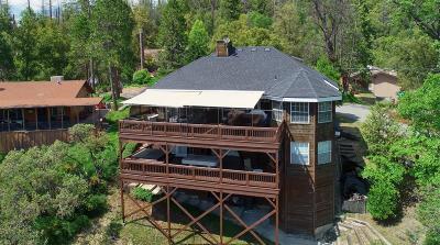 Bass Lake Single Family Home For Sale: 39395 Beaver