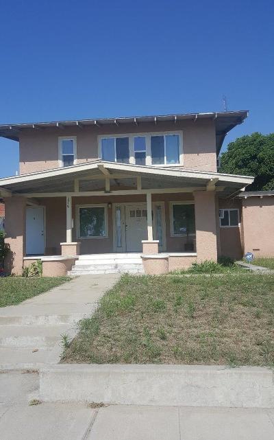Selma Multi Family Home For Sale: 2519 McCall Avenue